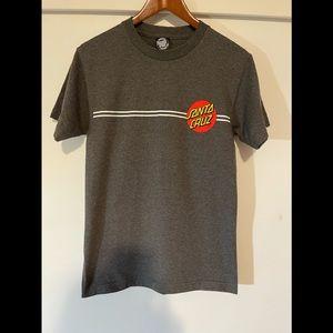 NWOT Santa Cruz short sleeve tee shirt
